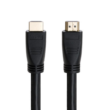 100ft 24AWG CL2 High Speed HDMI® Cable With Ethernet with Amplifier-Black-PrimeCables®-Free Shipping