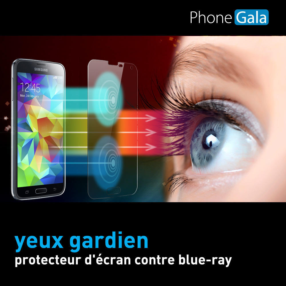 Samsung Galaxy S5 Anti Blue Ray Eyes Protection Transparent Screen Protector SP-BRs5