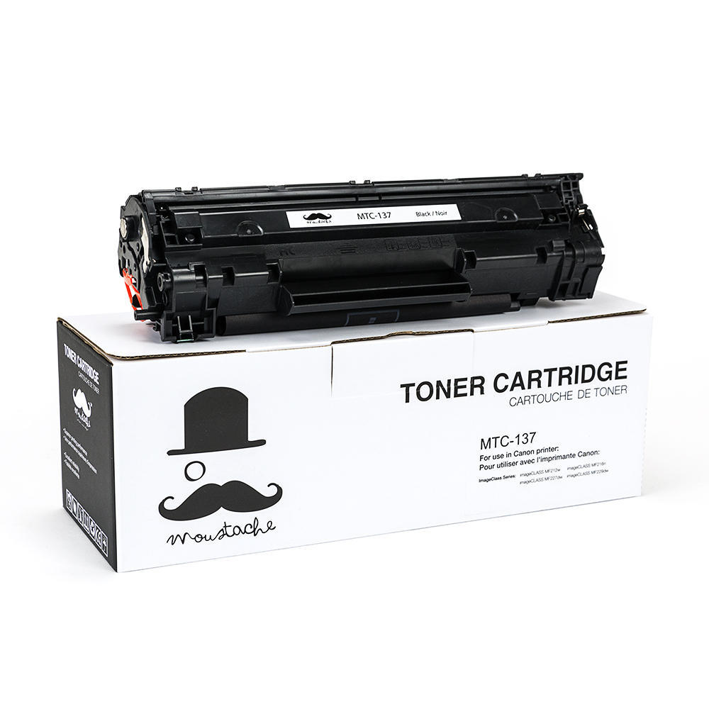 Canon 137 9435B001 Compatible Black Toner Cartridge - Moustache®