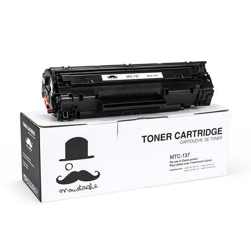 Canon 137 9435b001 Compatible Black Toner Cartridge Moustache