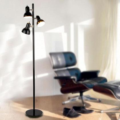 Black Painting Iron 3 Lights Tree Floor Lamp at LightingBox.com Canada