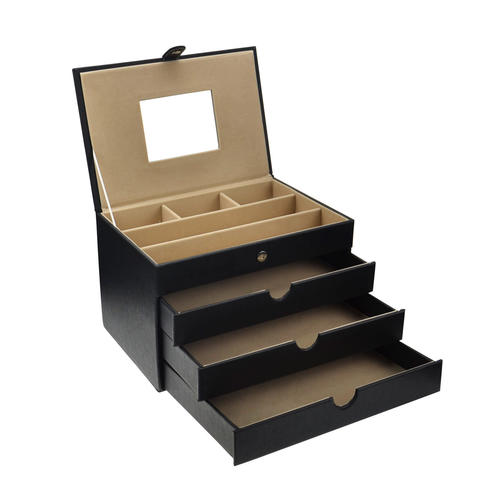 Jewelry Display Storage Watch Box 8Slot Organizer Showcase Velvet