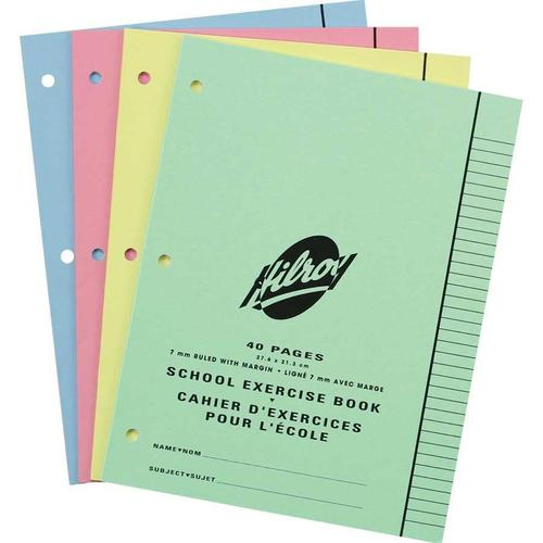 Hilroy Multi Size Exercise Notebook 8 3 8 X 10 7 8 Quot 7 Mm