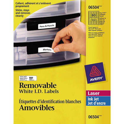 avery removable i d laser inkjet labels 123inkcartridges 123ink ca