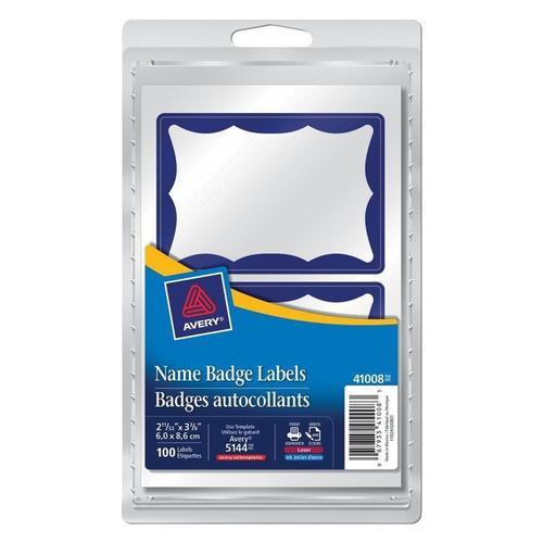 avery self adhesive name badge labels 2 11 32 x 3 3 8