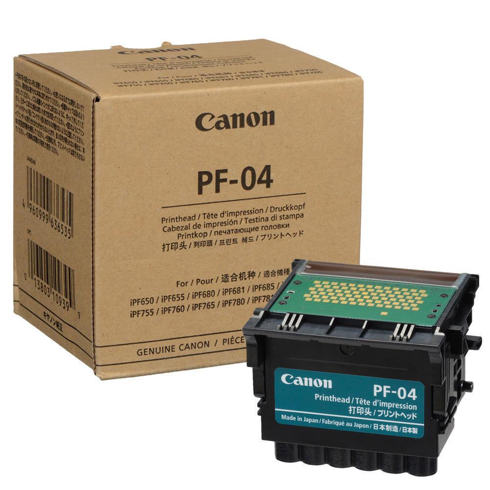Canon PF04 print heads