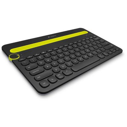Logitech Bluetooth Multi-Device Keyboard K480 for Computers, Tablets and Smartphones - Black