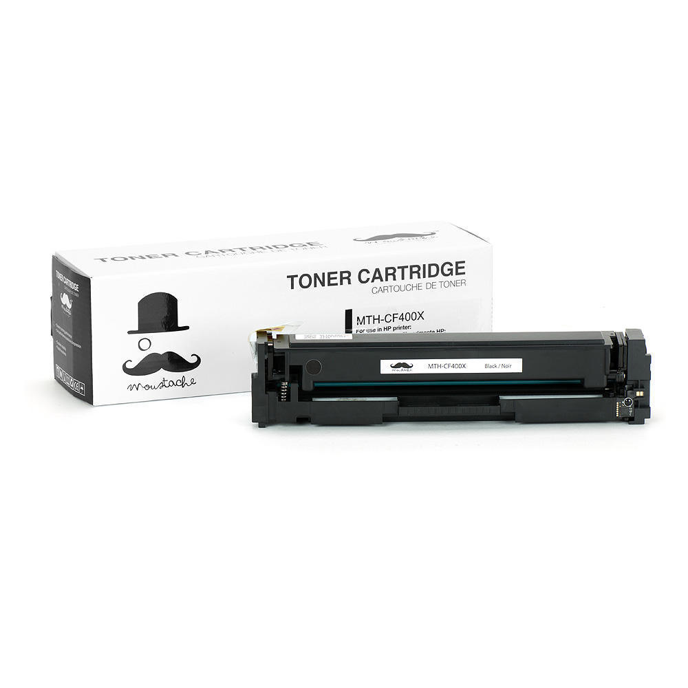 compatible hp 201x cf400x black laser toner cartridge high yield