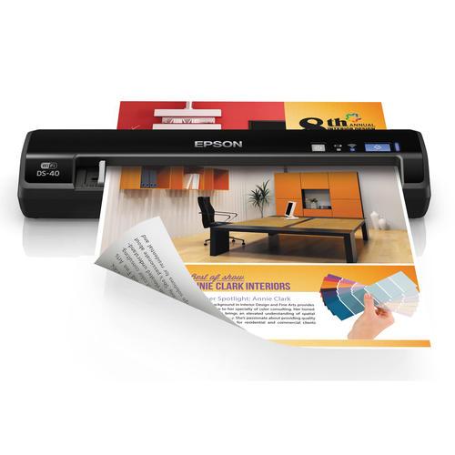 Epson Workforce Ds 30 Color Portable Scanner Black