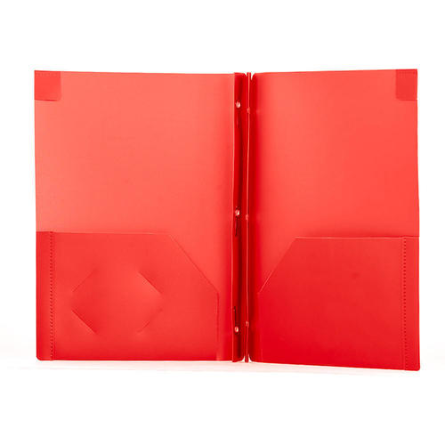 geo duo tang poly report cover assorted colours 1 cover per pack