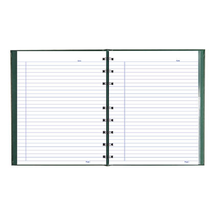 Blueline@ NotePro cahier 192 pages microperfor ees - Vert