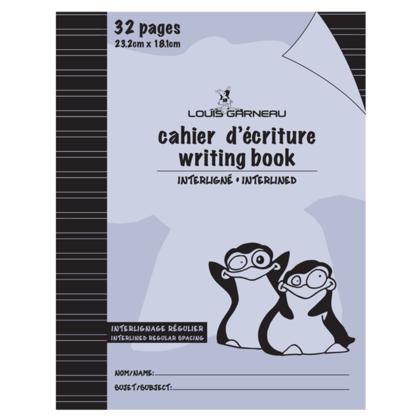 Louis Garneau@ LG20 petit livre d'exercice, interlined pointill es - 6 couleurs disponibles - violet