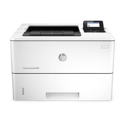 HP LaserJet Enterprise M506dn Single-Function Monochrome Laser Printer (F2A69A)