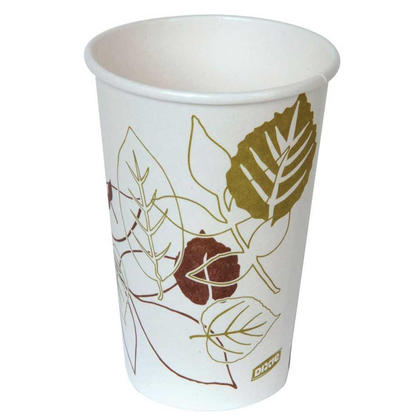 Dixie@ Eco-Forward@ Hot Drink Cups,  50/Pack - 16 oz