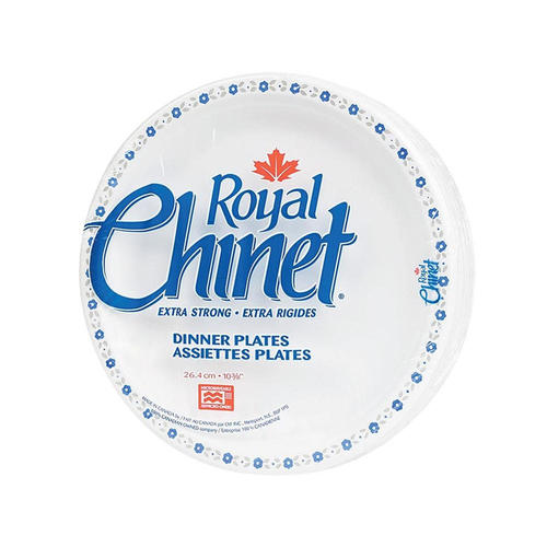 Royal Chinet® Disposable Dinner Plates, 10-3/8\