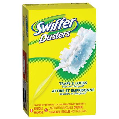 Swiffer@ Dusters@ nettoyeur kit de d emarrage 149682