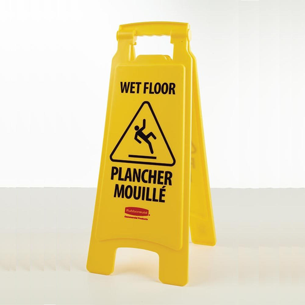 print inch english width products resistant message impact height foldable yellow floor wet sign p black carton caution x shape spanish rectangular