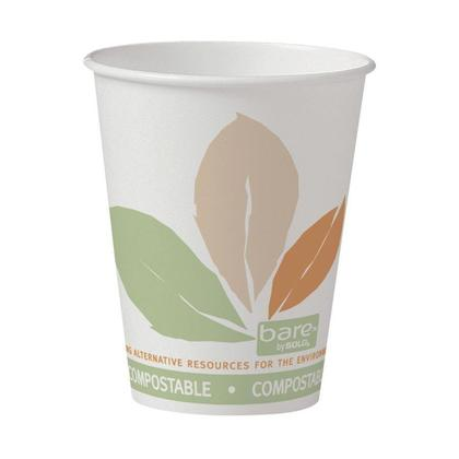 Bare@ Hot Drink Cups,  50/Pack - 8 oz