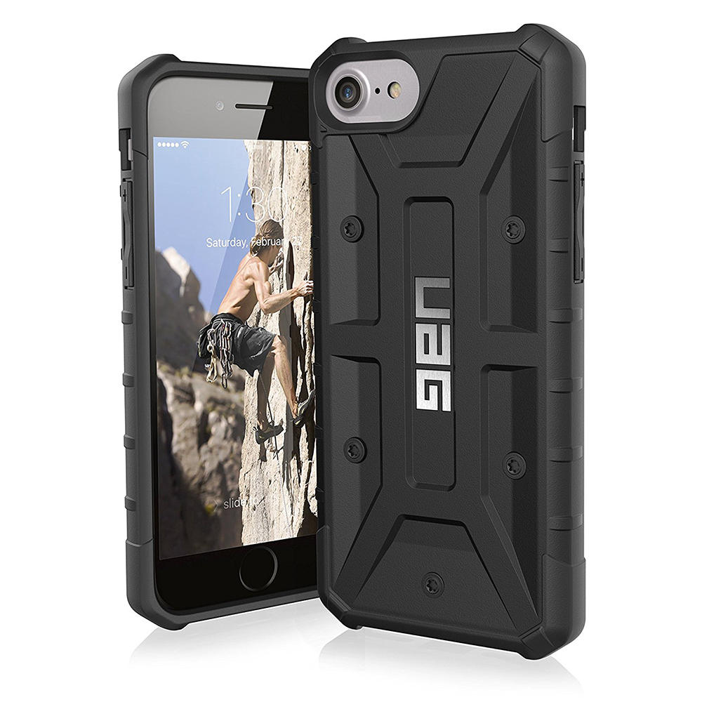 Sapiensman Consumer Electronics Goospery Iphone 7 Soft Feeling Jelly Case With Hole Black Uag Composite Protective