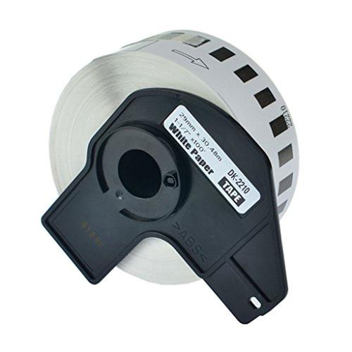 brother dk 2210 continuous length paper tape 1 1 x 100 29 mm x