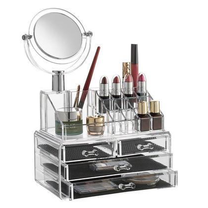 SortWise ® Detachable 3 Drawers Acrylic Makeup Cosmetic Storage Case Jewelry Display Orgaznier | Electronic Appliance | Party Supplies | Home Improvement ...  sc 1 st  Living.ca & SortWise ® Detachable 3 Drawers Acrylic Makeup Cosmetic Storage ... Aboutintivar.Com