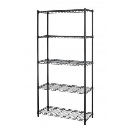 "Shelving Unit Storage Organizer Heavy Duty Adjustable Shelving 35.43""Lx13.78""Wx70.87""H - SortWise ™"