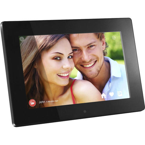 Aluratek 10 Touchscreen Wi Fi 8gb Black Digital Photo Frame