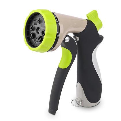 Amazetec® Garden Hose Nozzle Spray Nozzle Hand Sprayer 8 Patterns High  Pressure Pistol