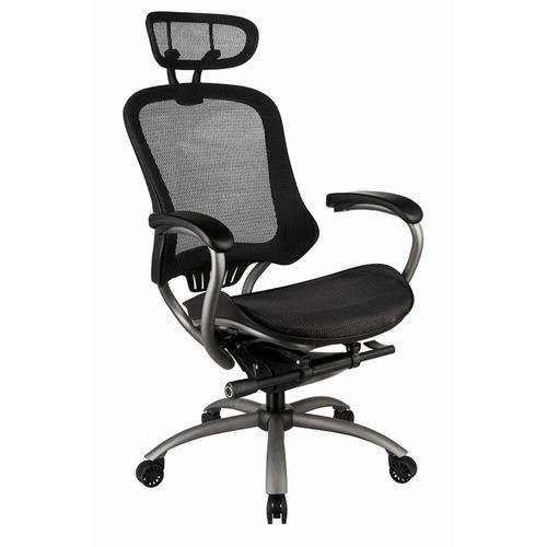 tygerclaw ergonomic high back office chair with headrest mesh