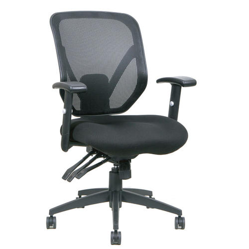tygerclaw mid back mesh office chair black 123inkcartridges 123ink
