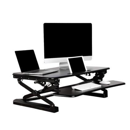 Primecables 174 Sit To Stand Adjustable Desk Riser Adr For