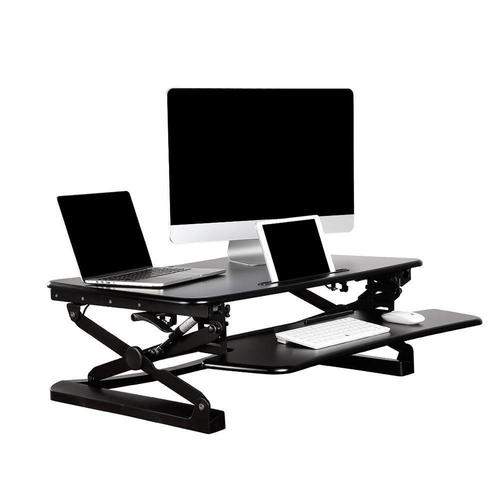 deluxe adjustable riser large dadr desk index rocelco