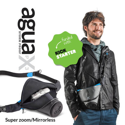 Miggo Agua Quick-draw Storm-proof Holster For Mirrorless SLR Pro SLR Black-Free Shipping