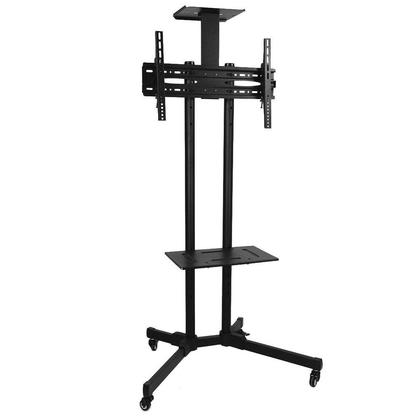 Prime Mounts 174 Portable Tv Floor Stand On Wheels Screens