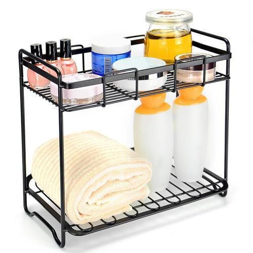 kitchen wire shelving. Medium Plus Dd9a9 Sortwise Sw Irn 004 Wire Shelving 2 Tier Kitchen Rack Bathroom Organizer Spice R