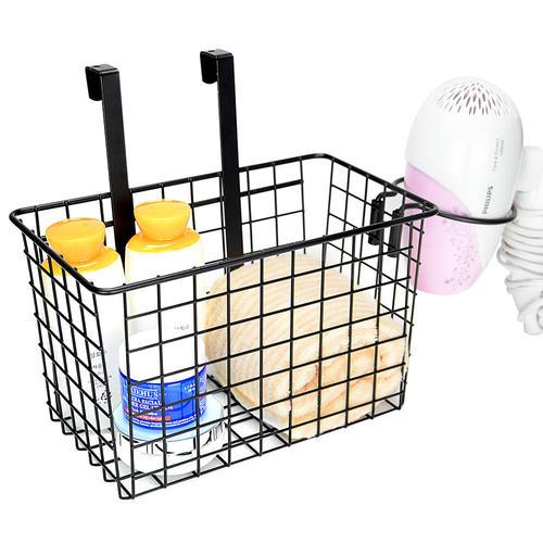 Storage Basket Over Cabinet Door Kitchen Organizer Basket With Hair