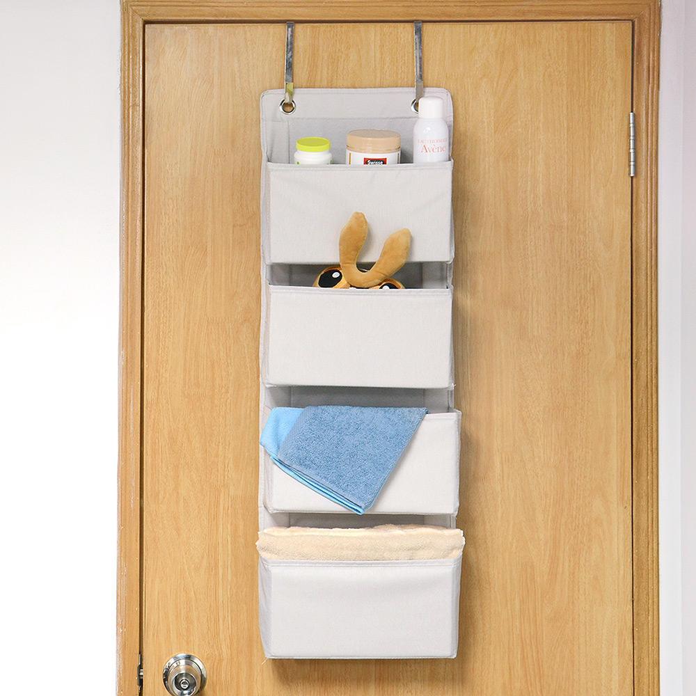 Hanging Pockets Storage Large Pocket Organizer Over Door With 2