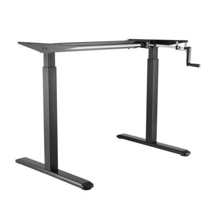 manual sit stand desk frame