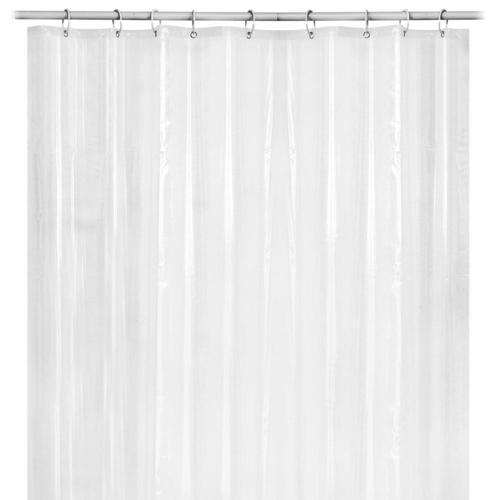 Mildew Free Peva Bathroom Shower Liner Curtain 72 X 72 Inch