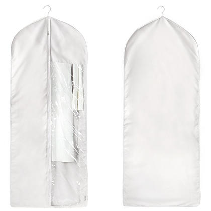 Garment Bags Suits Storage Dress Bag For Easy Storage Or Travel Organizer Grey - SortWise™