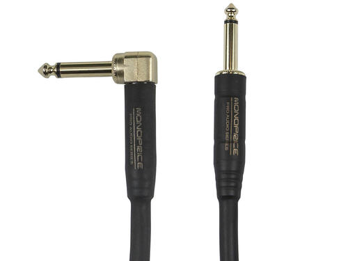14 Inch Ts Guitarinstrument Cloth Cable With One Right Angle