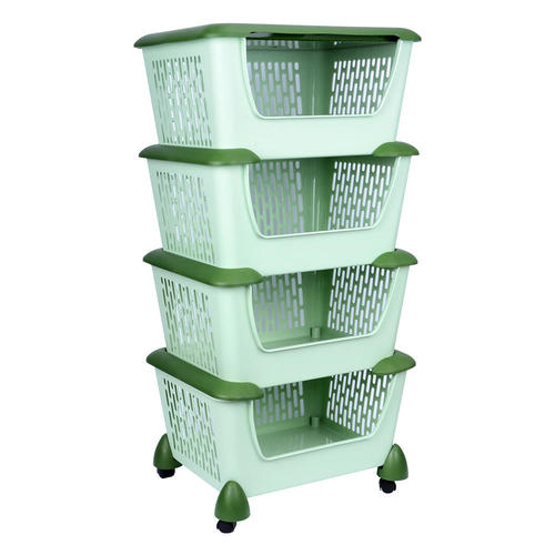 Medium Plus 30262 Sortwise Sw Sr 4604 Bath Kitchen Sortwise Home Style  Mobile 4 Shelf Plastic