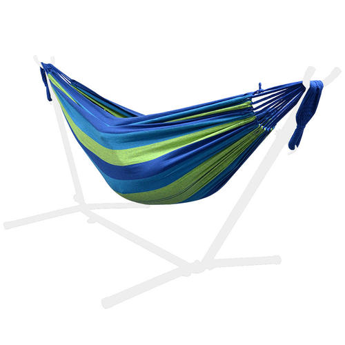 and hammocks dsc stand feet heavy sturdy sienna fabric two lazy person steel with rope cotton quilted pillow daze combo hammock duty stripe