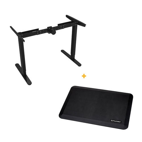 ofm model savings black desks riser blk adjustable on ess ergonomic shop essentials desk by metal new desktop