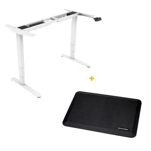 Sit-Stand Dual-Motor Height Adjustable ADR Desk Frame, Electric ...