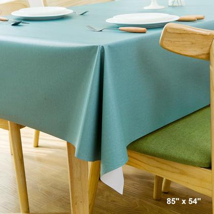 Protège-tables en vinyle épais pour table en PVC - LivingBasics™ - 1.37*2.15M