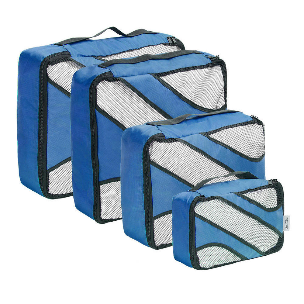 Travel Organizers Packing Cubes Lightweight Luggage Compression ...
