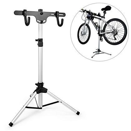 Support à vélo pour bicyclette Support à rangement pour support autoportant télescopique - SortWise™