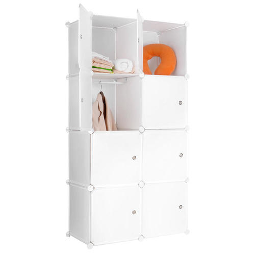 Portable Clothes Closet Wardrobe Bedroom Armoire Storage Organizer