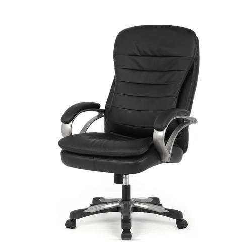 big tall double cushion bonded leather office chair capacity